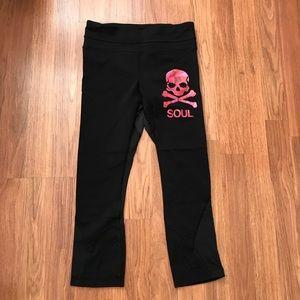 Lululemon SoulCycle Crop Black Leggings Size 4